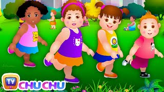 Repeat youtube video Head, Shoulders, Knees & Toes - Exercise Song For Kids