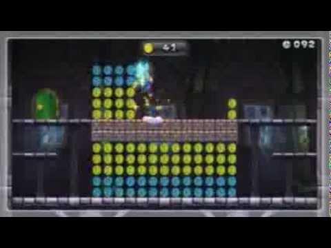 "New Super Mario Bros. U - ""Münzenspuk im Geisterhaus"" | ""Castle Coin Bypass"" Gold 151/156"
