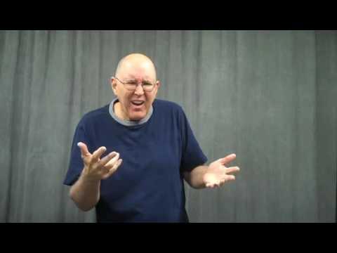 Joke in ASL:  Curtains!