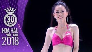 Á hậu 1 Bùi Phương Nga KHOE DÁNG NÓNG BỎNG với PHẦN THI BIKINI Hoa hậu Việt Nam 2018