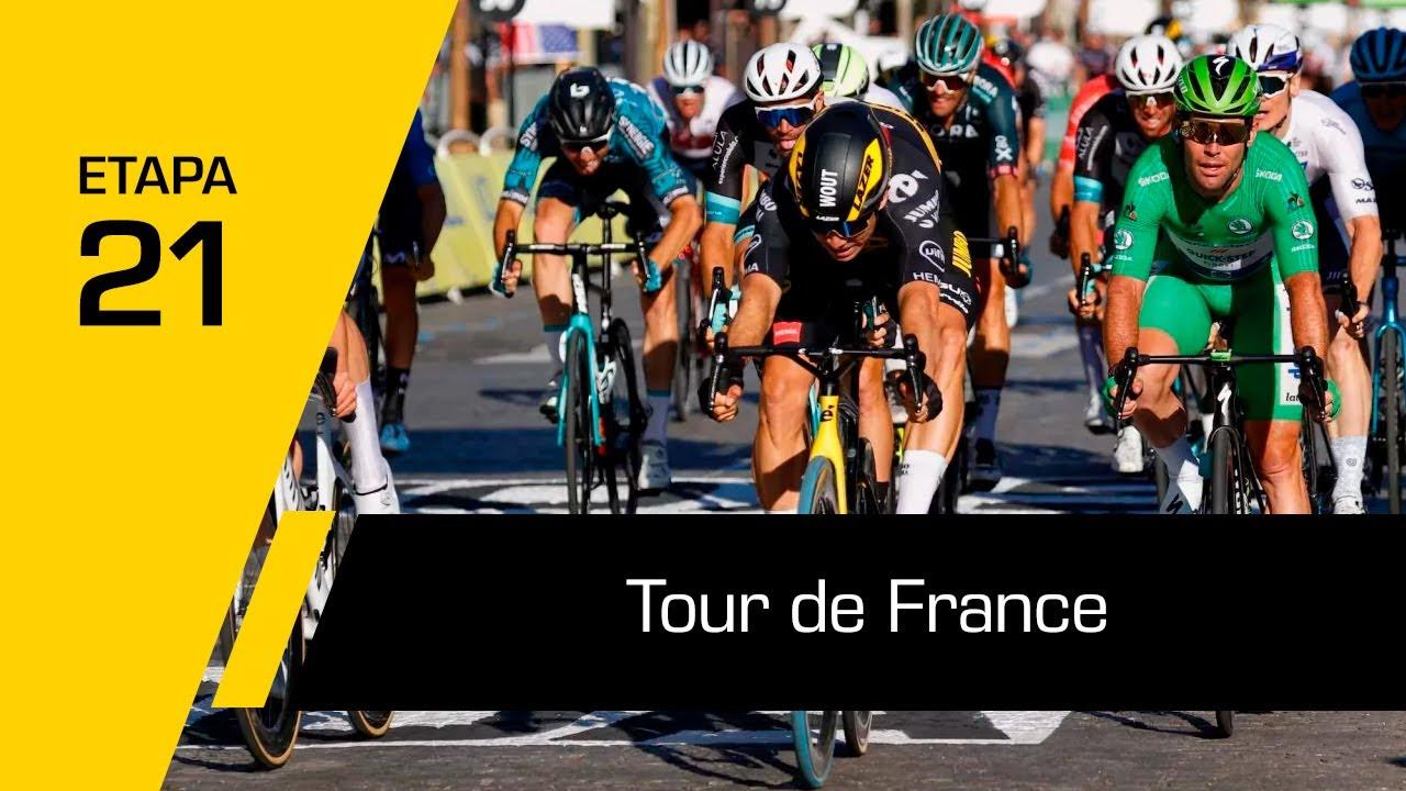 Tour de France 2021   Etapa 21