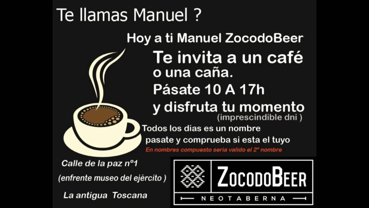 Manuel tu café - YouTube