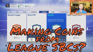 Making Coins from League SBCs? FIFA 19 Ultimate Team