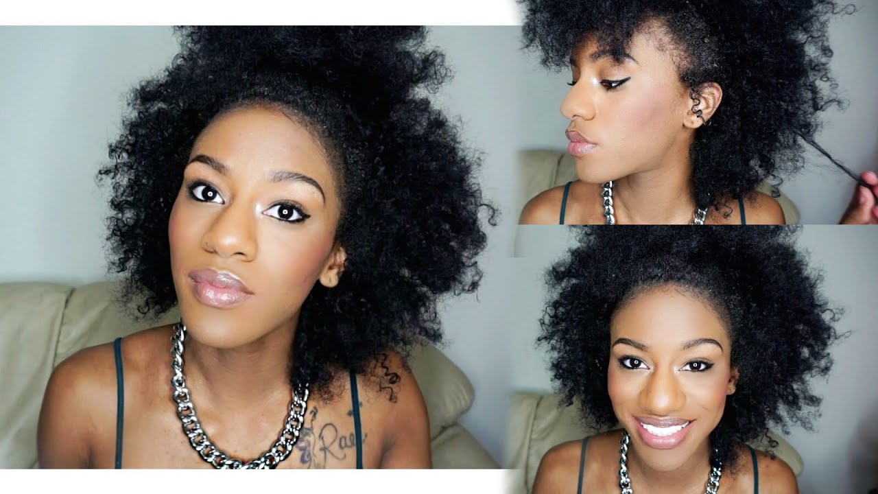 5 Easy Everyday Hairstyles for Natural Hair - YouTube