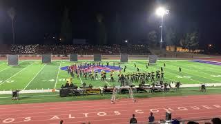 "Sunny Hills HS Lancer Regiment | ""Weight of the World"" | Los Altos FT 2018"