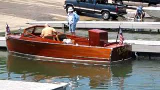 1941 Chris Craft Boat Start