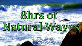 8hrs of natural waves sleep sounds