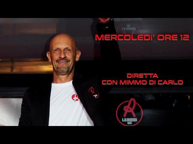 CONFERENZA STAMPA MIMMO DI CARLO