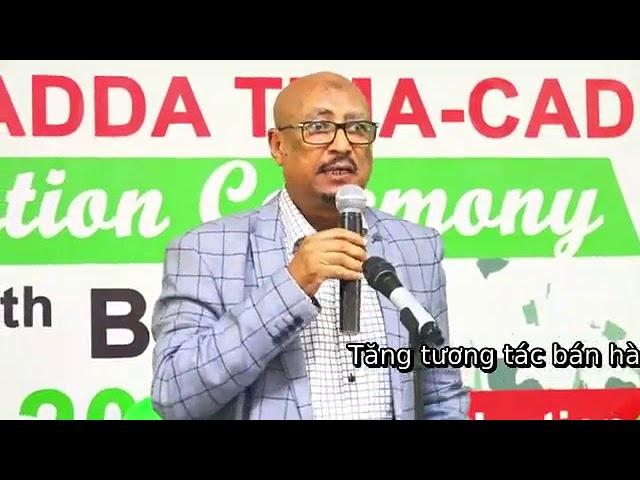 Eng Faysal Cali Waraabe oo qudbad dhinacyo badan taabanaysa ka Jeediyey  Jaamacadda #Timacade