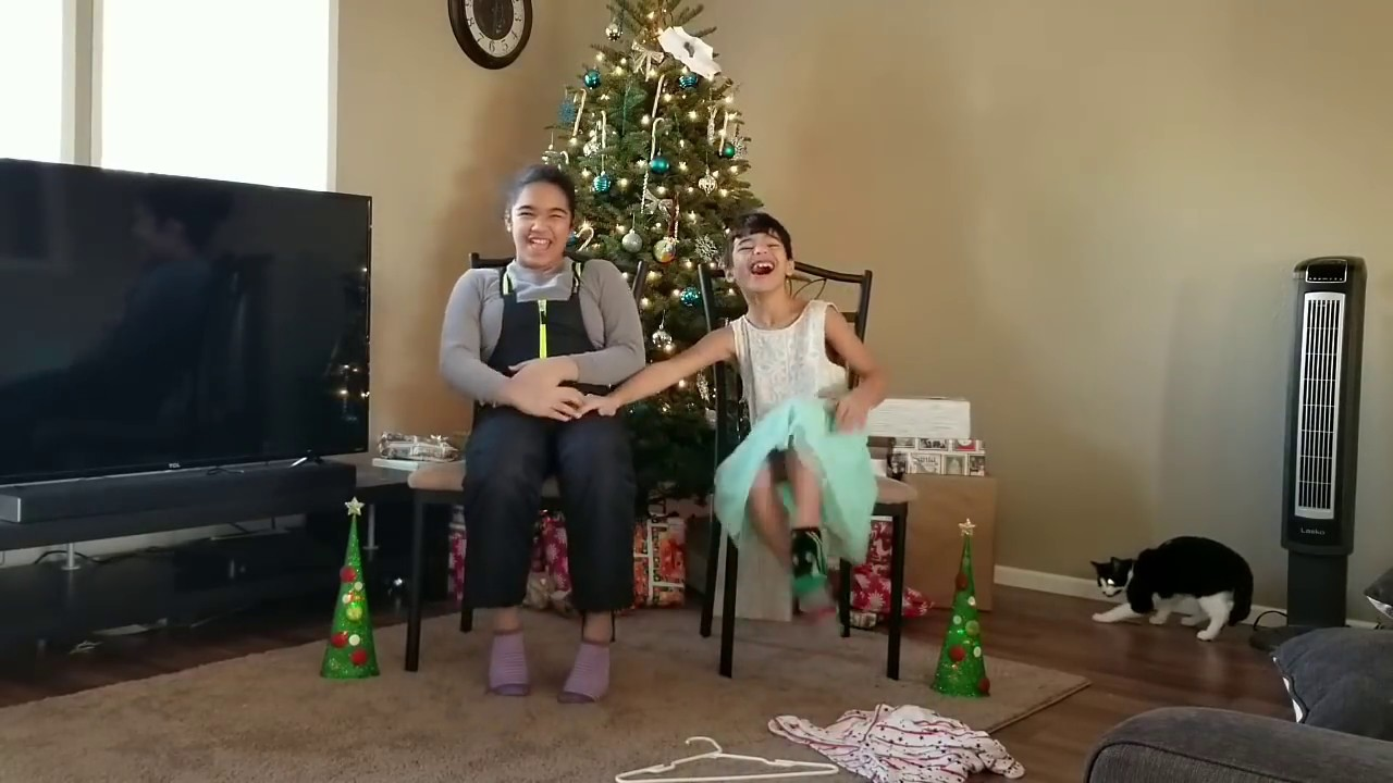 Christmas Sister Swap.Sister And Brother Clothes Swap Challenge