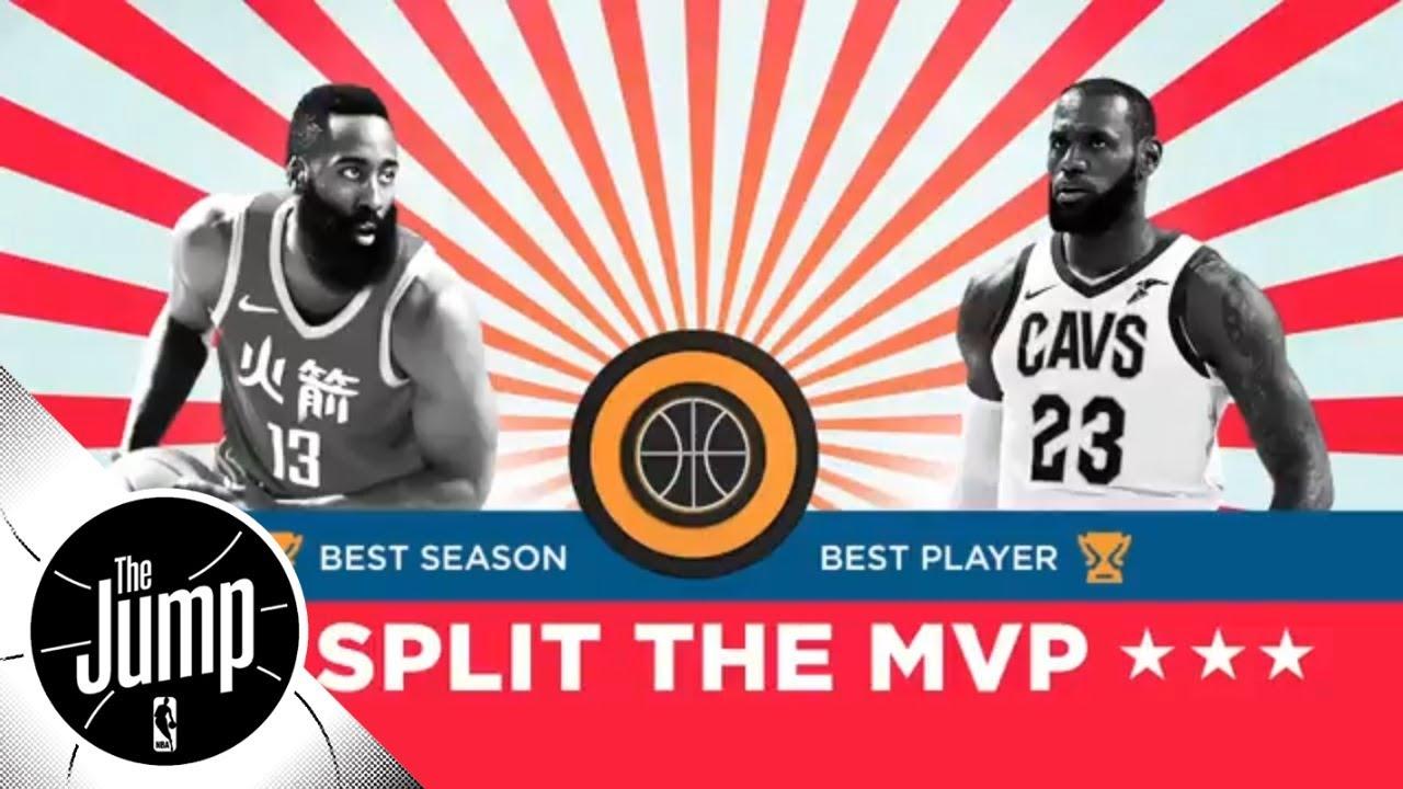 the latest 8b11e 4c3e7 Should LeBron James and James Harden split the MVP award?   The Jump   ESPN