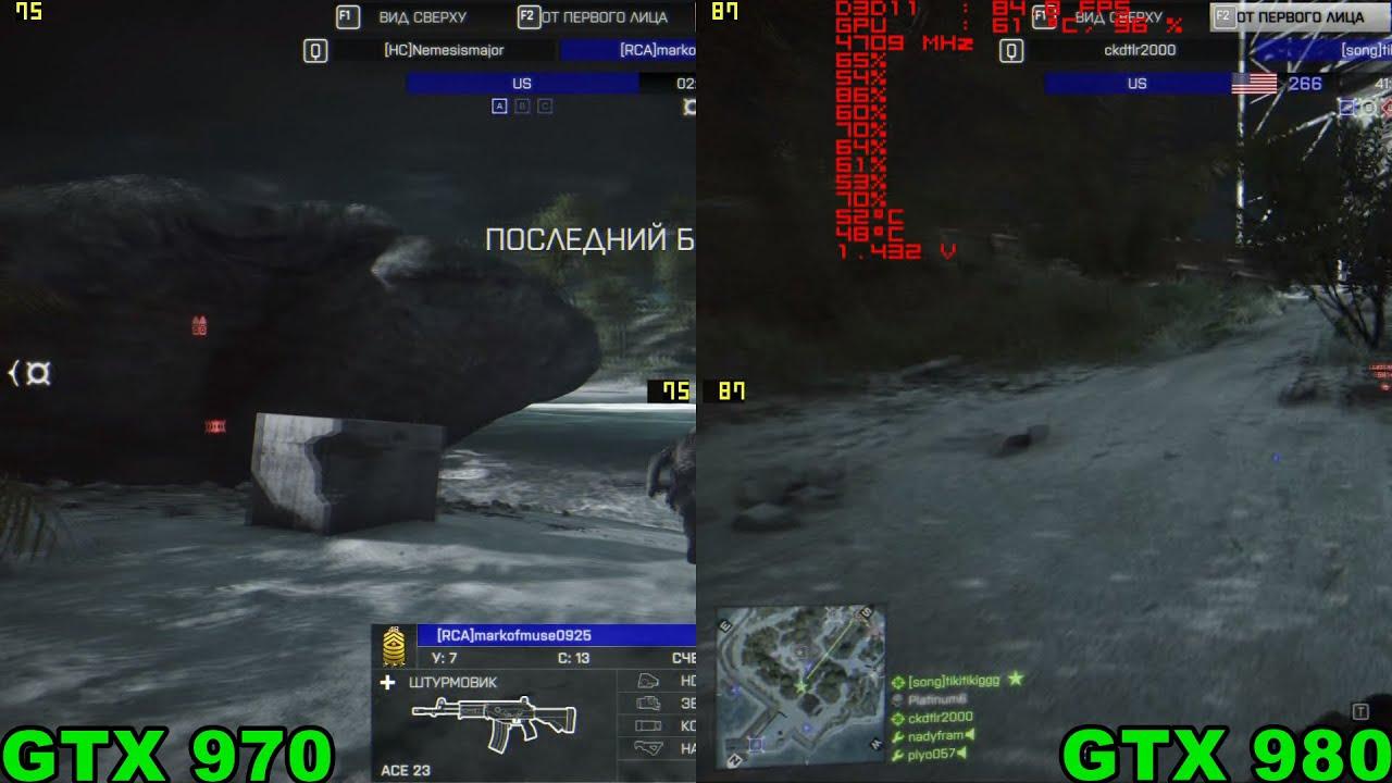 Сравнение: GTX 1060 против RX 480 и GTX 970 – тесты видеокарт от .