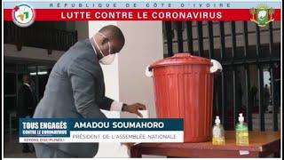 Tous engagés contre le coronavirus : soyons disciplinés !