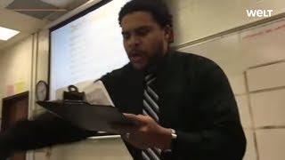 Cooler Pädagoge: Großartig! Dieser Lehrer rappt für seine Schüler