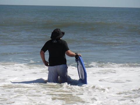 Surfing Vilano Beach 2017