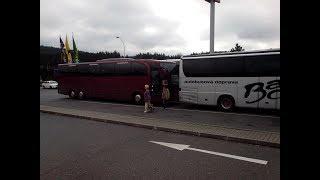 Трансфер Прага-Мюнхен. Виды из автобуса