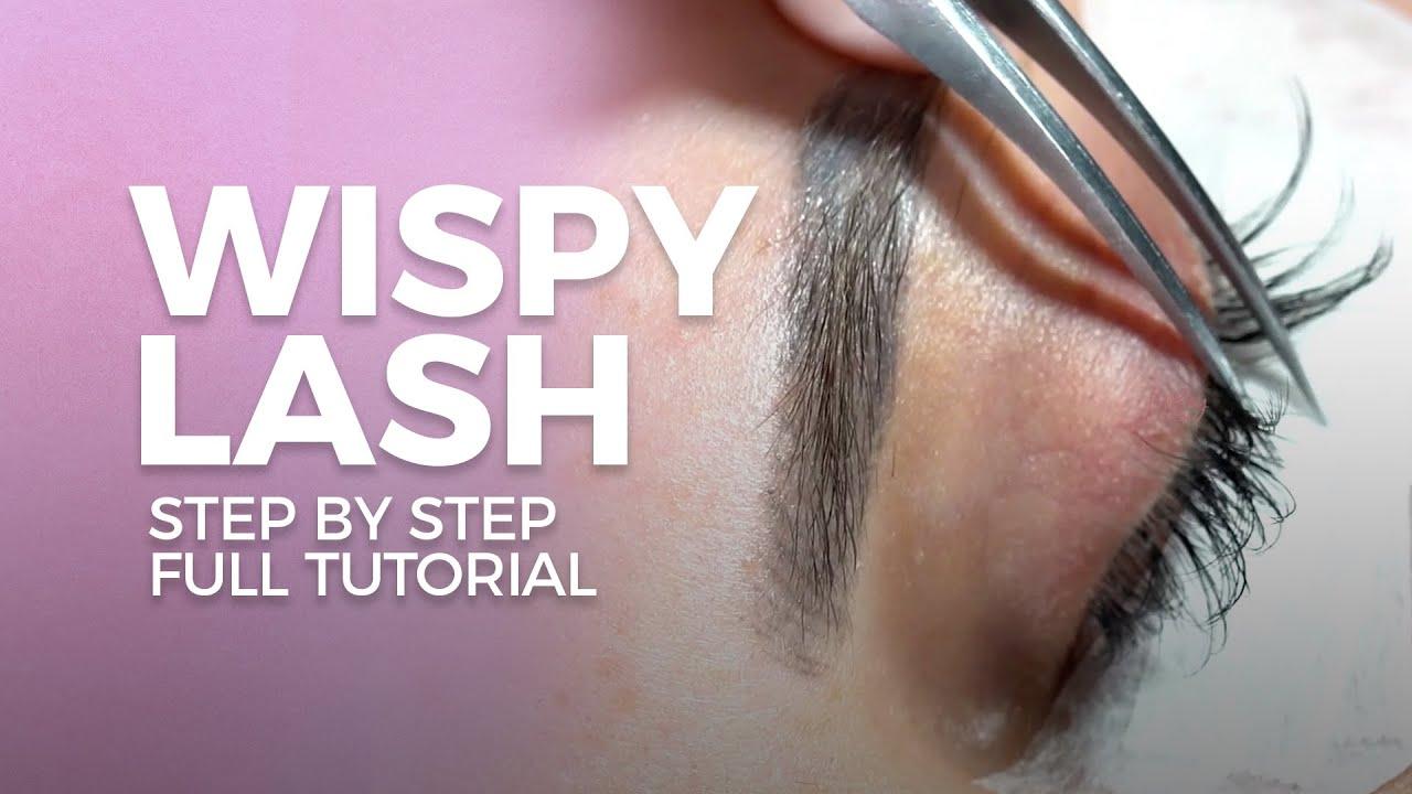 Download Wispy Eyelash Extension - Strip Lash Full Tutorial