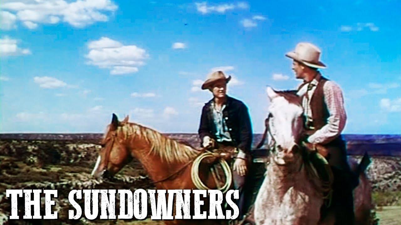 The Sundowners   Western Movie   Robert Preston   Outlaw   Cowboy Movie   English
