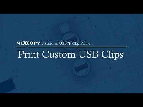 Nexcopy USB7P Clip Printer