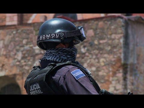 La primera misión de gendarmes mexicanos
