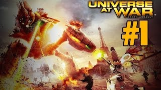 Прохождение Universe at War: Earth Assault [Часть 1]