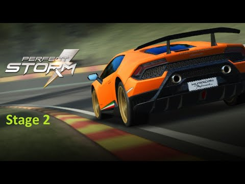 Real Racing 3 RR3 -The Perfect Storm - Stage 2 ( No Upgrades )