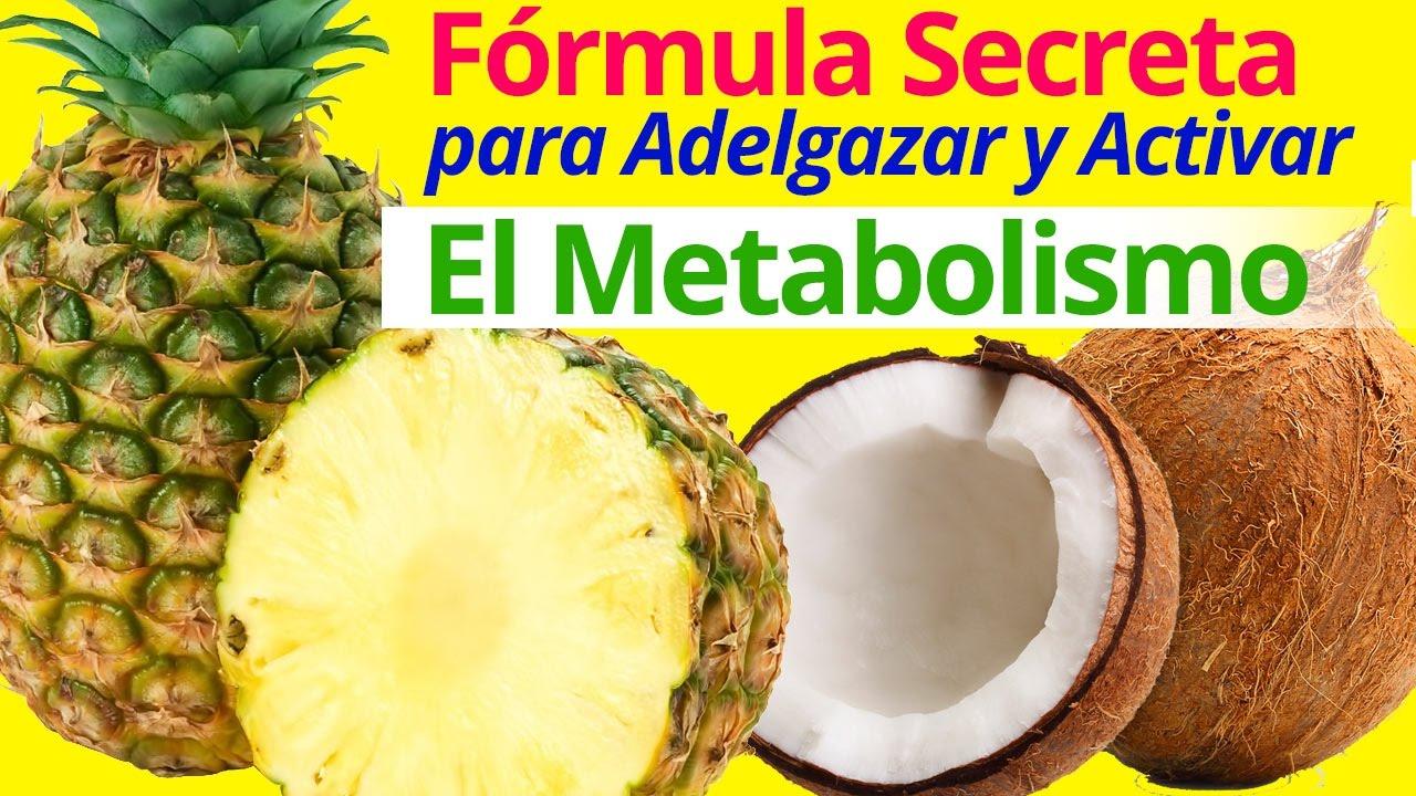 acelera el metabolismo adelgazar