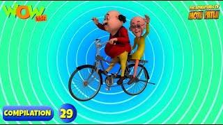Motu Patlu - 6 episodes in 1 hour | 3D Animation for kids | #29