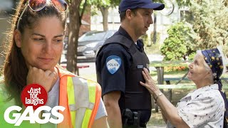 Old Lady Seduces Cop To Get Out Of Ticket
