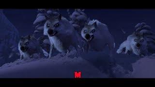 Холодное сердце. Нападение волков. (Frozen) 2013