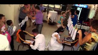 Оранжевая свадьба Романа и Оксаны 8 сентября 2013г.