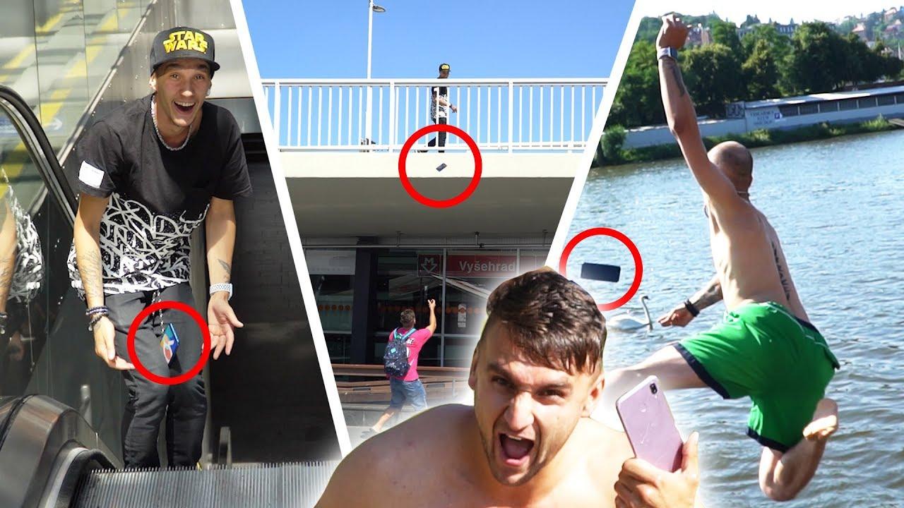 Catch your Phone Challenge w/Jay Fox