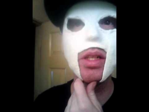 Hollywood Undead J Dog Mask 2013 Custom Hollywoo...