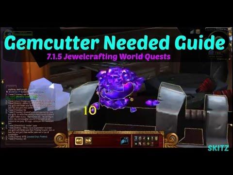 WoW Legion| 7.1.5 Jewelcrafting