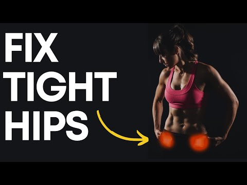 How to Fix Tight Hips with Three Exercises (WITHOUT STRETCHING)
