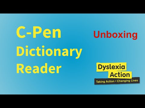 C-Pen Dictionary Reader Unboxing