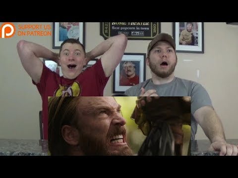Avengers: Infinity War – Official Trailer #2 REACTION!!!