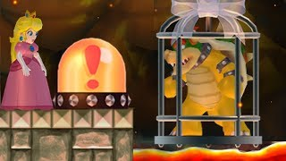 New Super Mario Bros. Wii - Peach wants to rescue Bowser