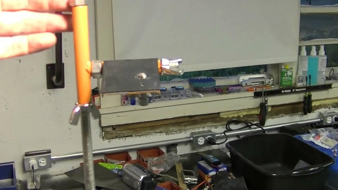Overhead Camera Trolly Rc Workbench Youtube