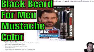Black Beard For Men Review