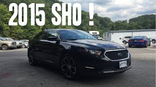 2015 Ford Taurus SHO Review And Test Drive - AWD 3.5L EcoBoost Twin Turbo