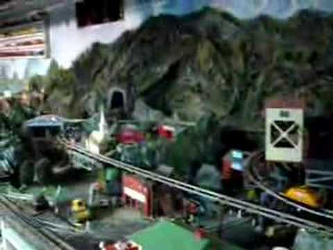 Running Trains on American Flyer layout