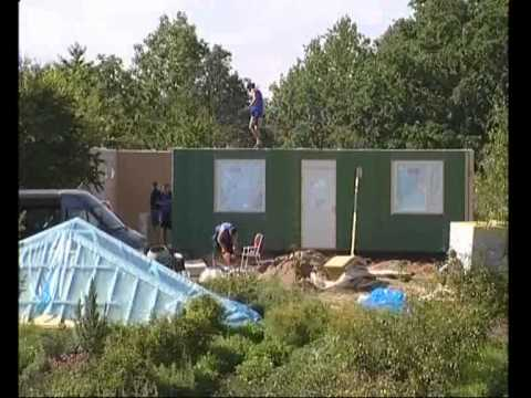 Сборка финского дома видео