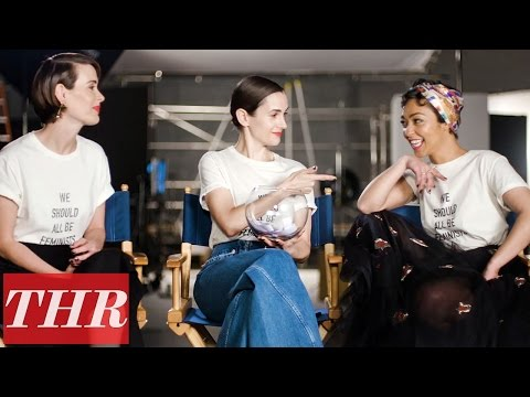 Ruth Negga & Sarah Paulson Play 'Fishing for Answers': Fashion Fears, Favorite Movies & More!  THR