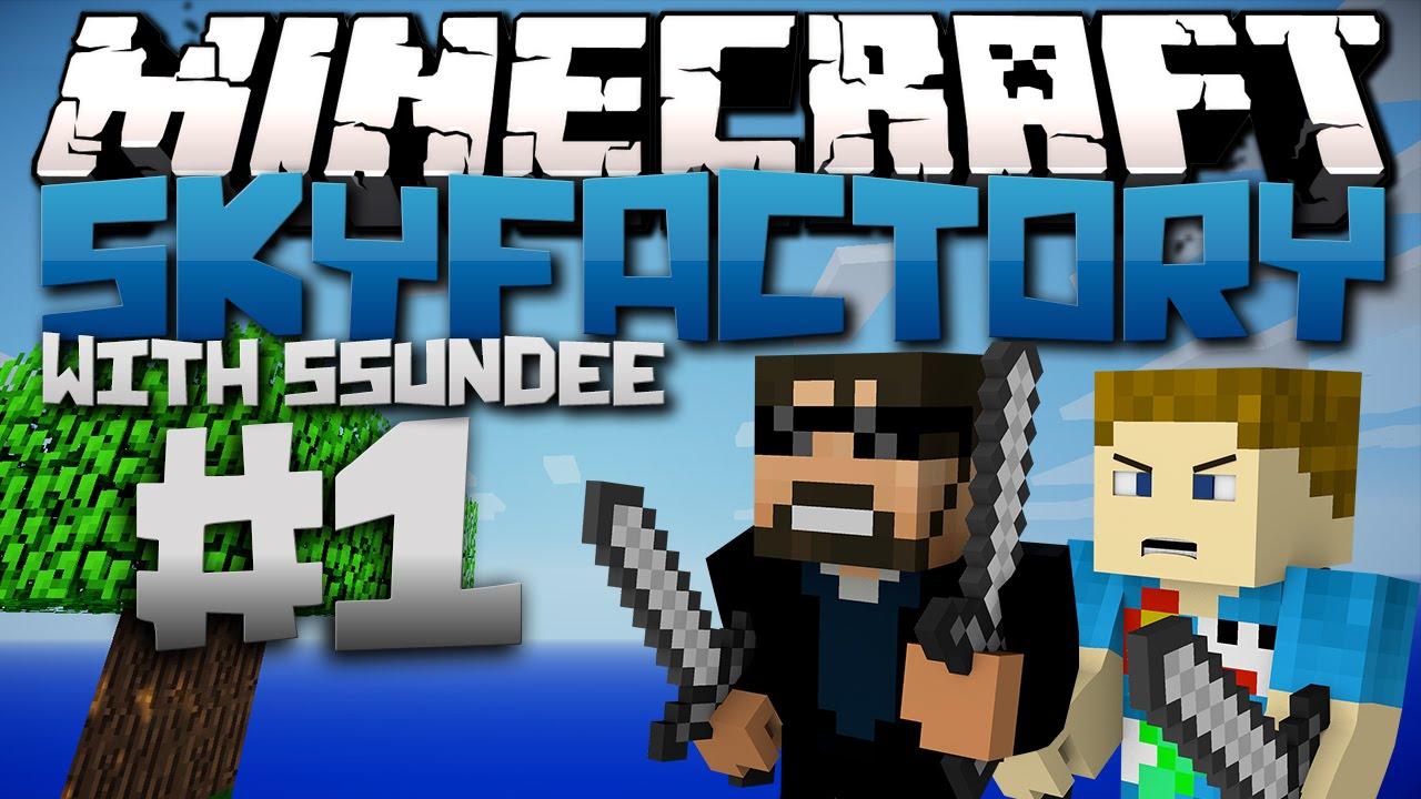 Minecraft | SkyFactory (Modded SkyBlock) - Ep: 01