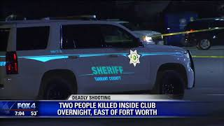 2 killed in Fort Worth strip club