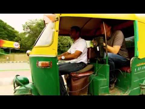 F1 - Karun Chandhok takes Jake for a spin round Delhi