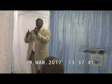 CELEBRATION SERVICE, 19TH MARCH 2017