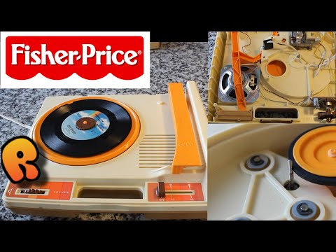 1978 Fisher Price Phonograph!  Review & Teardown!