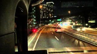 iPhone6 Plus 60p night movie at Tokyo Highway